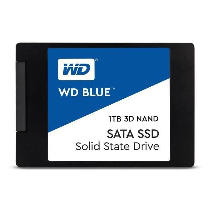 WD Blue™ - Disque SSD Interne - 3D Nand - 1To - 2.5- (WDS100T2B0A)