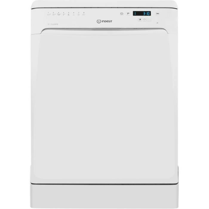 Lave-vaisselle pose lINDESIT DFP58T94Z - 14 couverts - Moteur induction - Larguer 60 cm - Classe A++ -44 dB - Blanc