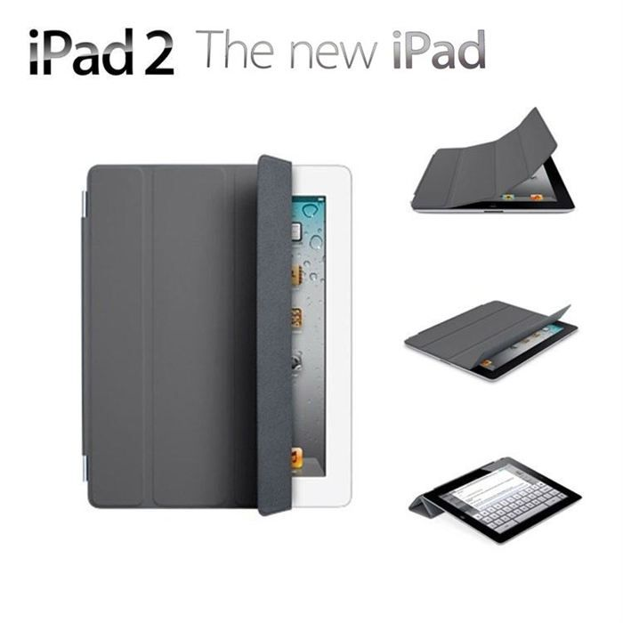 Apple Ipad Smart Cover gris foncé