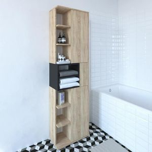 COLONNE - ARMOIRE SDB KUBE modula Colonne de salle bain L 50 x P 28 x H