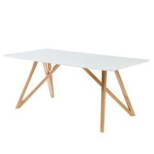 TABLE À MANGER SEULE LULEA Table à manger de 8 à 10 personnes scandinav