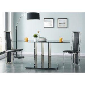 TABLE À MANGER SEULE TRIBECA Table à manger de 6 à 8 personnes style co