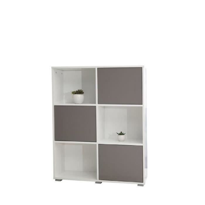 bibliotheque taupe achat vente bibliotheque taupe pas. Black Bedroom Furniture Sets. Home Design Ideas
