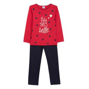 Ensemble de vêtements ABSORBA Ensemble Pyjama 2 Pièces Belle T-shirt + P