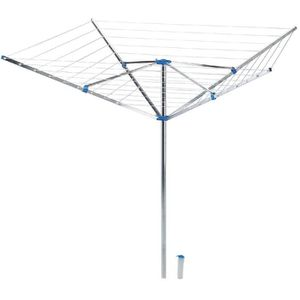 FIL À LINGE - ÉTENDOIR Séchoir d'extérieur parapluie - Etendage 50 m