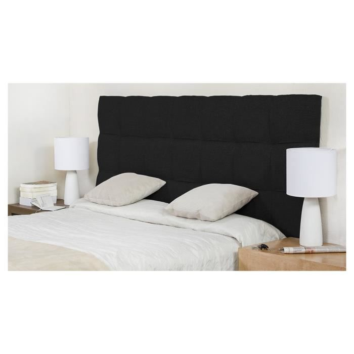 finlandek t te de lit dream 140 cm noire achat vente. Black Bedroom Furniture Sets. Home Design Ideas