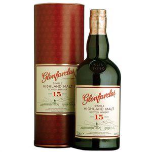 WHISKY BOURBON SCOTCH Glenfarclas 15 ans