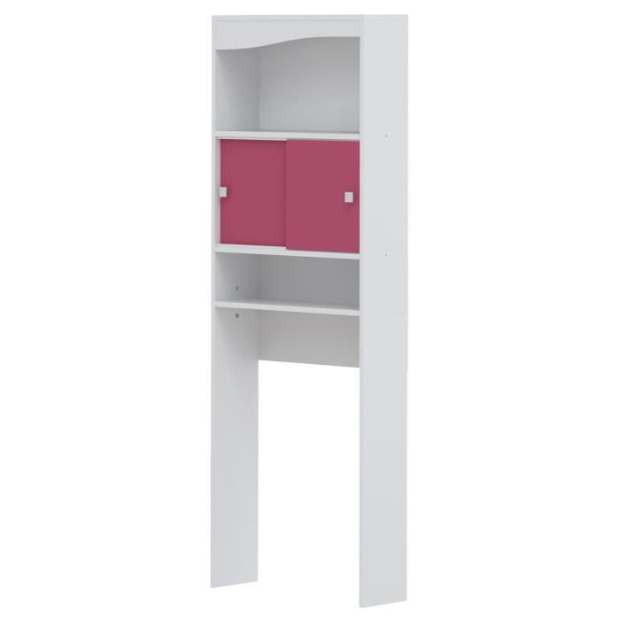 meuble galet wc machine laver fushia achat vente colonne armoire wc meuble galet wc. Black Bedroom Furniture Sets. Home Design Ideas