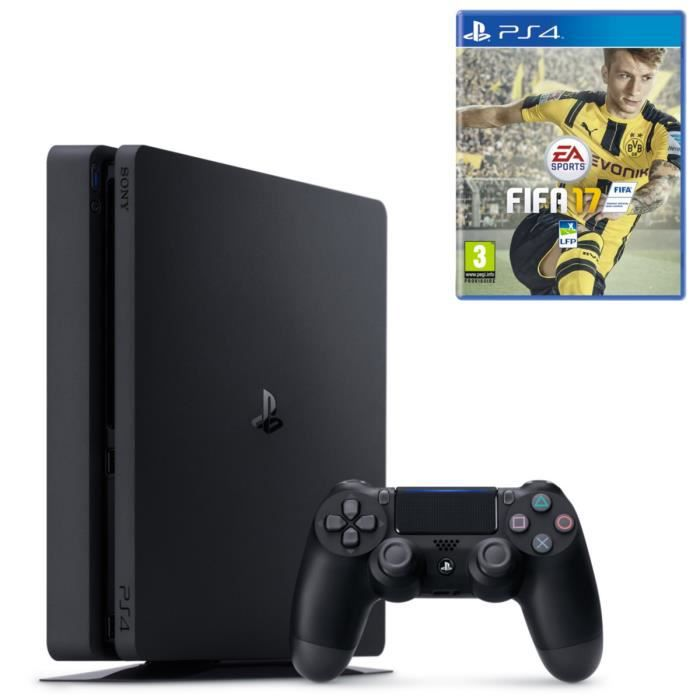 nouvelle ps4 slim 1 to fifa 17 achat vente console ps4 nouveaut nouvelle ps4 1 to fifa. Black Bedroom Furniture Sets. Home Design Ideas
