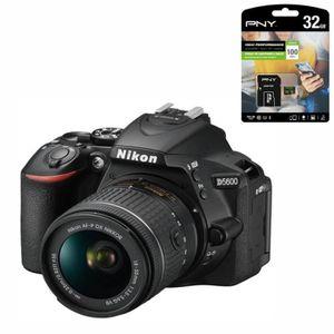 PACK APPAREIL RÉFLEX NIKON D5600 Appareil Photo Reflex  + Objectif AF-P