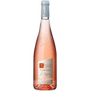 VIN ROSÉ Domaine de Terrebrune 2018 Cabernet d'Anjou - Vin