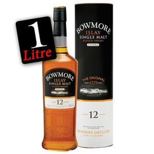 WHISKY-BOURBON-SCOTCH Bowmore Enigma  12 ans 1L