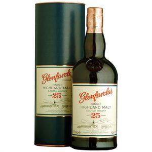 WHISKY BOURBON SCOTCH Glenfarclas 25 ans