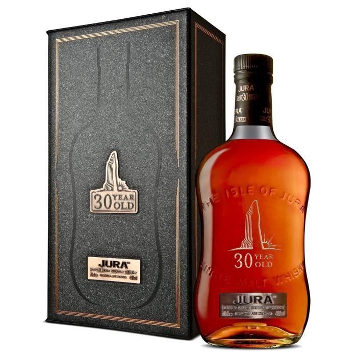 WHISKY BOURBON SCOTCH ISLE OF JURA 30 ans Single Malt Whisky d'Ecosse -