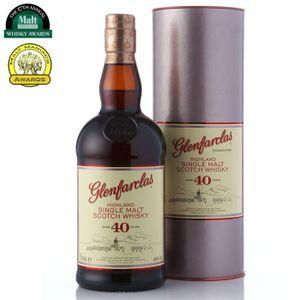 WHISKY BOURBON SCOTCH Glenfarclas 40 ans