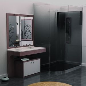 caisson meuble salle de bain achat vente caisson. Black Bedroom Furniture Sets. Home Design Ideas
