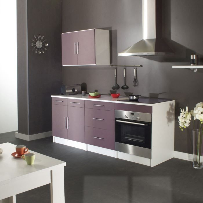 D co cuisine parme for Cuisine complete violet