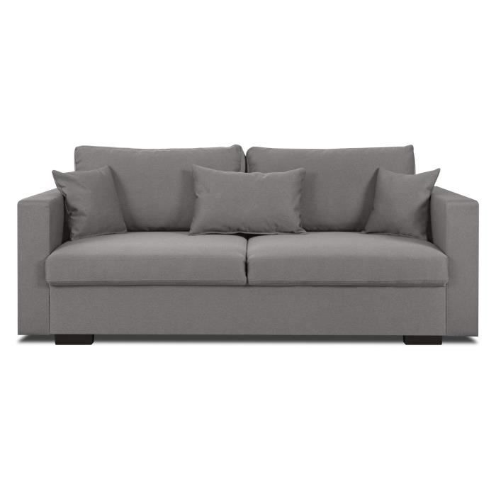 Canape tissu taupe achat vente canape tissu taupe pas cher cdiscount - Canape taupe pas cher ...