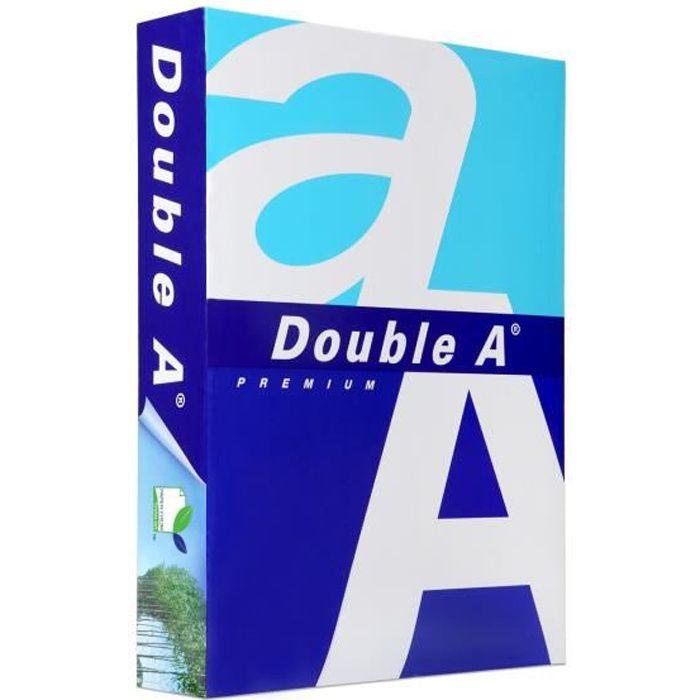 PAPIER IMPRIMANTE DOUBLE A Papier ramette 80 A4, qualité Premium-80g