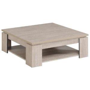 TABLE BASSE LOFT Table basse carrée panneau particules style c