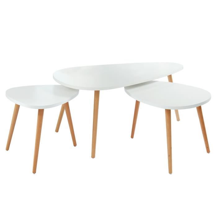 Table Gigogne Blanche