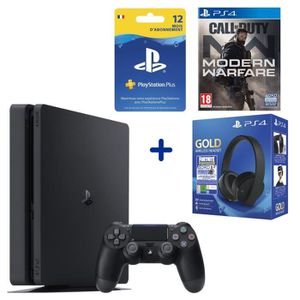 CONSOLE PS4 PS4 Slim 500 Go + Call Of Duty Modern Warfare + Ca