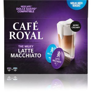 CAFÉ CAFE ROYAL Latte Machiato - Compatibles avec le sy