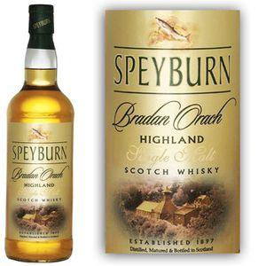 WHISKY BOURBON SCOTCH Speyburn Bradan Orach 70cl 40°