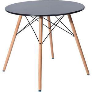 TABLE À MANGER SEULE MADDIE Table à manger ronde de 2 à 4 personnes sca