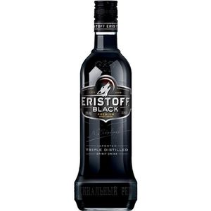 VODKA Eristoff Black - Vodka aromatisée - 70cl - 20°