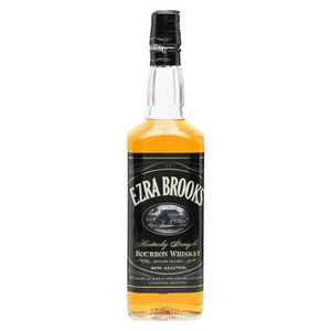 WHISKY BOURBON SCOTCH Ezra Brooks Black 70cl 40°