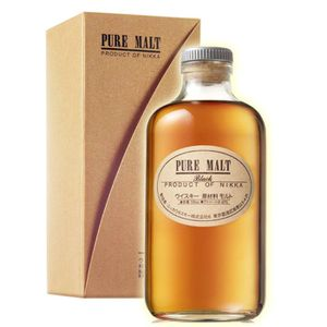 WHISKY BOURBON SCOTCH Nikka black Pure Malt