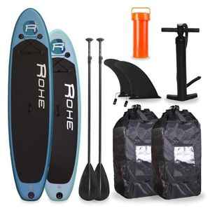 STAND UP PADDLE ROHE Pack Famille Paddle 10'6 + Paddle 9'0 + Acces
