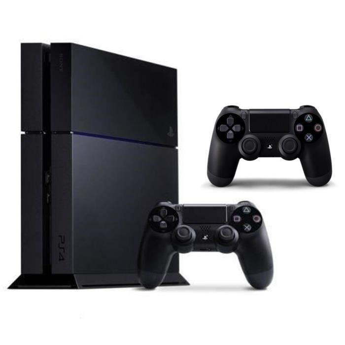 ps4 500 go noire 2eme manette dualshock achat vente. Black Bedroom Furniture Sets. Home Design Ideas