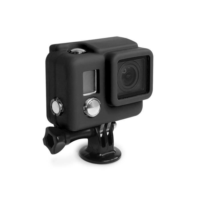 xsories housse silicone cover hd3 gopro hero3 achat vente coque housse 233 tui cdiscount