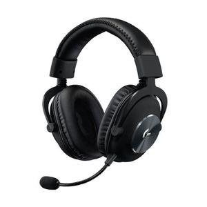 CASQUE AVEC MICROPHONE LOGITECH Casque PRO X Gaming Headset Noir