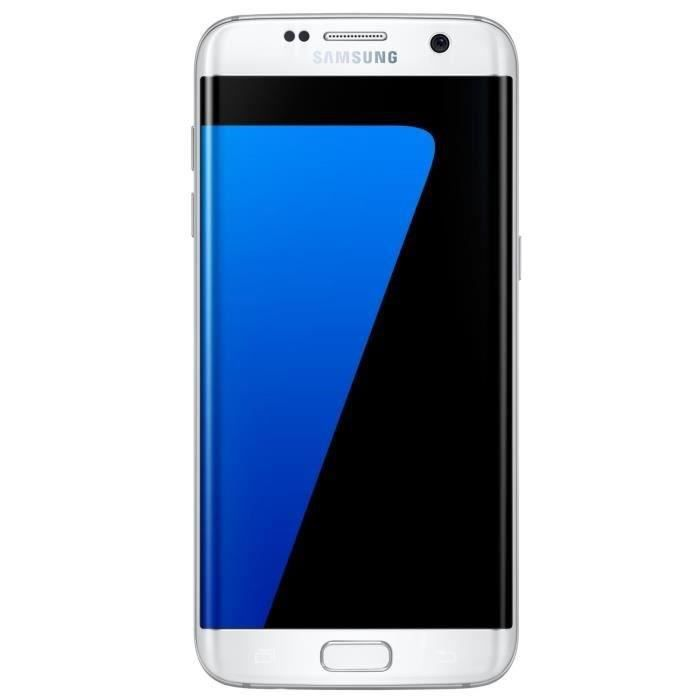 samsung galaxy s7 edge blanc chargeur induction smartphonespaschers. Black Bedroom Furniture Sets. Home Design Ideas