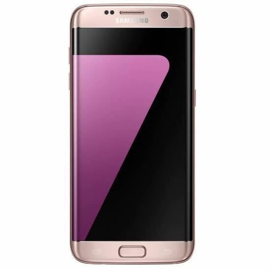 samsung galaxy s7 edge rose chargeur induct smartphonespaschers. Black Bedroom Furniture Sets. Home Design Ideas
