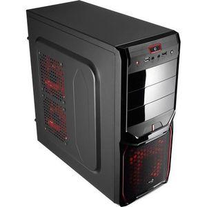 BOITIER PC  Aerocool Boîtier PC V3X Advance Devil - Rouge