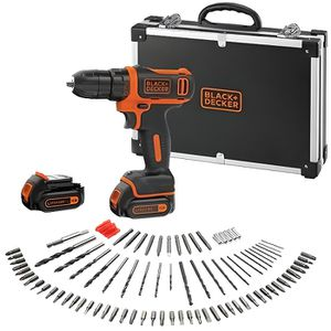 PERCEUSE BLACK & DECKER Perceuse visseuse sans fil 10,8 V,