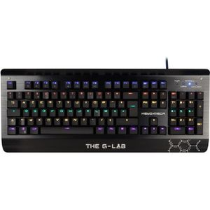CLAVIER D'ORDINATEUR THE G-Lab Clavier Gamer KEYZ-MECA Filaire - USB -