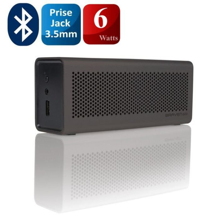 braven 600 enceinte bluetooth kit mains libres g prix. Black Bedroom Furniture Sets. Home Design Ideas