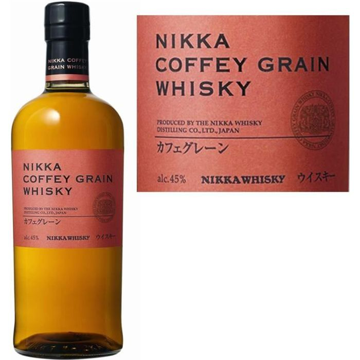 WHISKY BOURBON SCOTCH Nikka Coffey Grain 45° 70cl