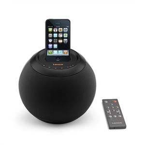 STATION D'ACCUEIL LENCO SPEAKERBALL Black