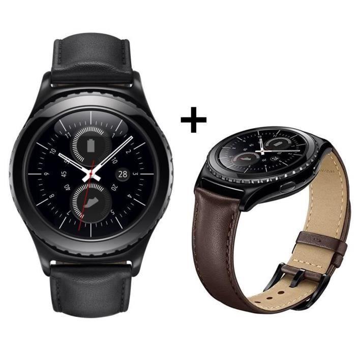 bracelet cuir samsung gear s2 classic
