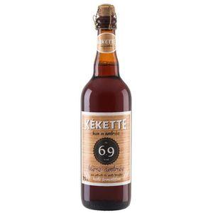 BIÈRE Kekette - Bière Ambrée - 75 cl