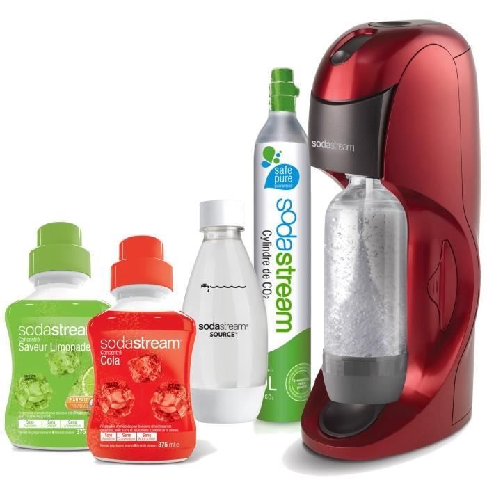 sodastream mega pack dynamo rouge achat vente machine. Black Bedroom Furniture Sets. Home Design Ideas