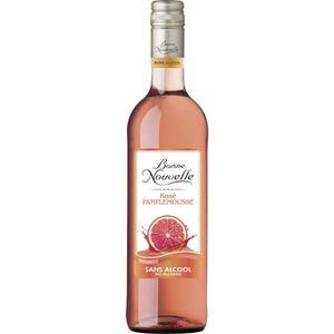 Apéritif à base de vin Bonne Nouvelle Rosé Pamplemousse A Base de Raisin