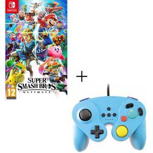 JEU NINTENDO SWITCH Super Smash Bros Ultimate Nintendo + Manette filai