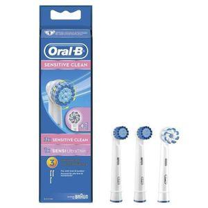 BROSSETTE Pack 2 ORAL-B Sensitive Clean 3 Brossettes De Rech